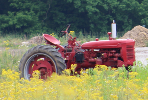 Fishers AgriPark Tractor